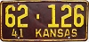 1941 Kansas # 126, Wabaunsee County