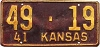 1941 Kansas # 19, Linn County