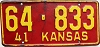 1941 Kansas # 833, Ellsworth County