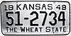 1949 Kansas # 2734, Harper County
