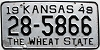 1949 Kansas # 5866, Harvey County
