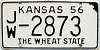 1956 Kansas # 2873, Jewell County