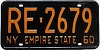 1960 New York Empire State # RE-2679