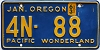1963 Oregon Pacific Wonderland # 4N-88