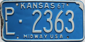 1967 Kansas Midway USA # 2363, Phillips County