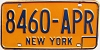 1973 base New York # 8460-APR
