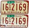 1975 Nebraska Commercial Truck pair # 2169, Seward County