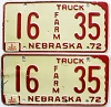 1975 Nebraska Farm pair # 35, Seward County