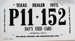 How Much Is A Temporary License Plate In Texas - Best Plate 2017