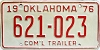 1976 Oklahoma Commercial Trailer # 621-023