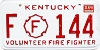 1988 Kentucky Firefighter # 144