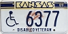 1989 Kansas Disabled Veteran # 6377
