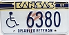 1989 Kansas Disabled Veteran # 6380