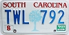 1989 South Carolina graphic # TWL-792
