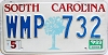 1989 South Carolina graphic # WMP-732
