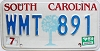 1989 South Carolina graphic # WMT-891