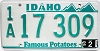 1990 Idaho # 17 309, Ada County