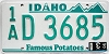 1990 Idaho # D 3685, Ada County
