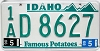 1990 Idaho # D 8627, Ada County