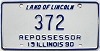 1990 Illinois Repossessor # 372