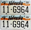 1991 Nebraska pair # G964, Otoe County