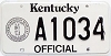 1992 Kentucky Official # A1034