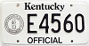 1992 Kentucky Official # E4560