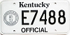 1992 Kentucky Official # E7488