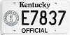 1992 Kentucky Official # E7837
