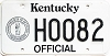 1992 Kentucky Official # H0082