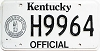 1992 Kentucky Official #H9964