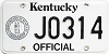 1992 Kentucky Official # J0314
