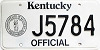 1992 Kentucky Official # J5784