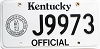 1992 Kentucky Official # J9973