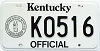 1992 Kentucky Official # K0516