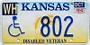 1994 Kansas Disabled Veteran graphic # 802