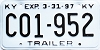 1997 Kentucky Trailer # C01-952