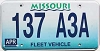 1998 Missouri Fleet Vehicle graphic # 137-A3A