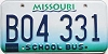 1998 Missouri School Bus # B04-331