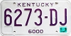 1999 Kentucky Truck # 6273-DJ