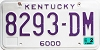 1999 Kentucky Truck # 8293-DM