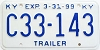 1999 Kentucky Trailer # C33-143