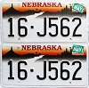 1999 Nebraska pair # J562, Seward County