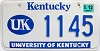 1999 University of Kentucky # 1145