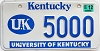 1999 University of Kentucky # 5000