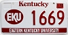 2000 Eastern Kentucky University graphic # 1669