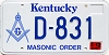 2000 Kentucky Masonic Order graphic # D-831