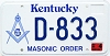 2000 Kentucky Masonic Order graphic # D-833