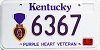 2000 Kentucky Purple Heart Veteran graphic # 6367