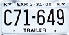 2000 Kentucky Trailer # C71-649